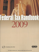 RIA Federal Tax Handbook 2009