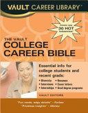 The Vault College Career Bible Book