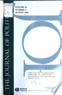 The Journal of Politics