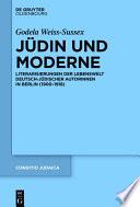Jüdin und Moderne