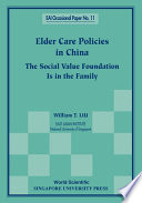 Elder Care Policies in China