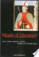 Rituals of Literature