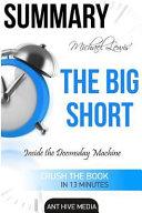 Michael Lewis  the Big Short Book
