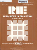 Resources in Education