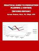 Practical Guide To Production Planning Control Revised Edition  Book PDF