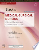 """Black's Medical-Surgical Nursing, First South Asia Edition"" by Malarvizhi S., Renuka Gugan"