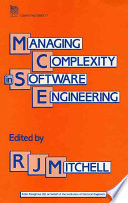 Managing Complexity in Software Engineering Book PDF