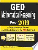 GED Mathematical Reasoning Prep 2019