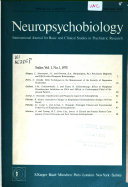 Neuropsychobiology