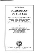 Toxicology of the Eye