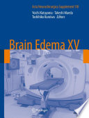 Brain Edema Xv Book PDF