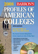 Profiles of American Colleges    2008