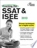 Cracking the SSAT & ISEE 2013