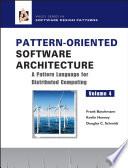 Pattern Oriented Software Architecture  A Pattern Language for Distributed Computing Book