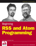 Beginning Rss And Atom Programming Book PDF