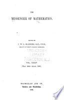 The Messenger of Mathematics