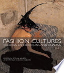 Fashion Cultures Book