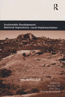 Sustainable Development  National Aspirations  Local Implementation