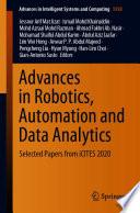 Advances in Robotics  Automation and Data Analytics