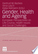 Gender  Health and Ageing