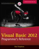 Visual Basic 2012 Programmer s Reference