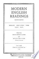 Modern English Readings
