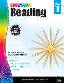 Spectrum Reading Workbook Grade 1