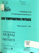 Low Temperature Physics