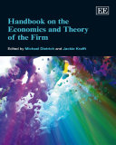 Handbook on the Economics and Theory of the Firm Pdf/ePub eBook