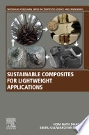 Sustainable Composites for Lightweight Applications Book