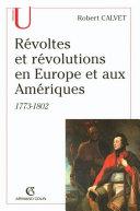 Pdf Révoltes et révolutions en Europe et aux Amériques Telecharger