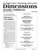 Dimensions of Early Childhood
