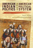 American Indian Politics and the American Political System Book PDF