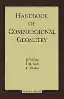 Handbook of Computational Geometry