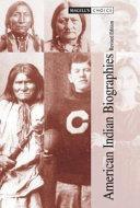 American Indian Biographies Pdf/ePub eBook