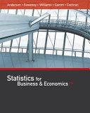 Statistics for Business   Economics Book