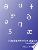 Singing American English  Textbook for Diction for Singers