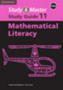 Books - Study & Master Mathematical Literacy Grade 11 Study Guide Caps | ISBN 9781107435520