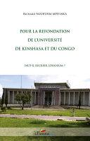 Pour la refondation de l'université de Kinshasa et du Congo