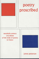 Pdf Poetry Proscribed Telecharger