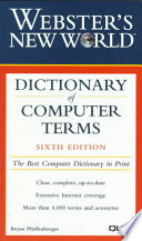Webster's New World Dictionary of Computer Terms