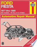 Ford Fiesta 1977 thru 1980