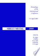 Sheet Metal 2005
