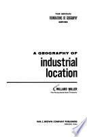 A geography of industrial location