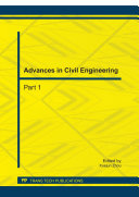 Advances in Civil Engineering  ICCET 2011