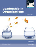 Leadership in Organizations Global Edition