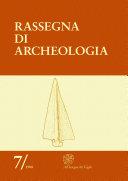 Pdf Rassegna di archeologia, 7, 1988 - Congresso Internazionale L'età del Rame in Europa (Viareggio 15/18 ottobre 1987) Telecharger