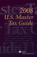 U S  Master Tax Guide 2008