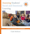 Assessing Students  Social and Emotional Learning