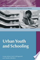 Urban Youth And Schooling Book